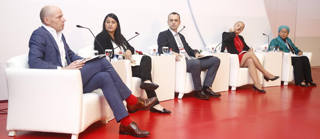 Antalya Turkey,November 10,2017 Red Cross Red Crescent Statutory Meetings,Opening Panel COD,